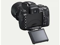 Nikon D5000 / 75mm lens & carry bag