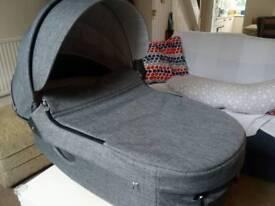 Stokke Stroller Carry Cot (Black Melange)