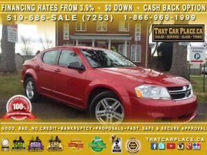 2012 Dodge Avenger SE-$56/Wk-AUX/CD/MP3-PWR WDWS/DRS/LCKS/MRRS-C