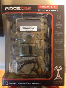 NEW RIDGETEC Summit 4 trail camera/cellular