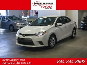 2016 Toyota Corolla LE, Heated Seats, Touch Screen, Back Up Came