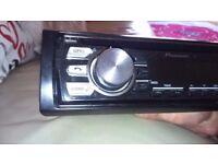 Pioneer stereo.