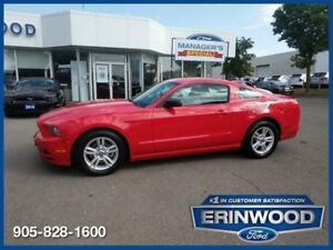 """2014 Ford Mustang Coupe6CYL/6SPD MANUAL/PGROUP/17"""" ALLOYS"""