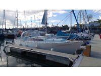 Moody 30 Yacht Sailing Boat 6 Berth £8,500