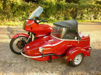 BMW R100 RT Combination Sidecar Outfit R80 R 100 Touring Tourer Combo