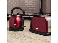 Toaster and kettle set new