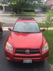 Toyota RAV4 Base with electric moontrap