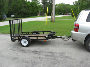 MOTORCYCLE/LANDSCAPING TRAILER--OWEN SOUND