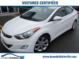2013 Hyundai Elantra Limited NAVIGATION,CUIR,TOIT,MAGS,BLUETOOTH