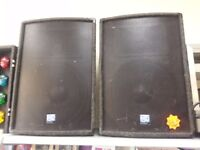 300W njd DJ Disco speakers
