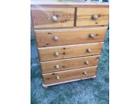 Large tall chest of drawers