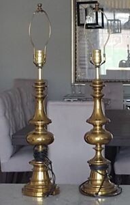 Vintage Solid Brass Lamps