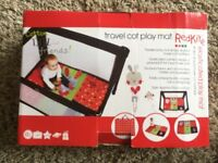 Red Kite travel cot ply mat brand new