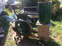 Lister L stationary engine for sale or swap