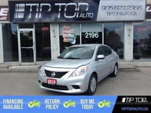 2013 Nissan Versa SV ** Low Kms, Automatic, A/C, Fuel Efiicient