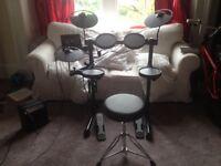 Yamaha DTX400 Electric Drumkit - unused gift
