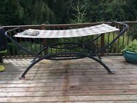 Outdoor Freestanding Metal Frame Hammock Swing Bed