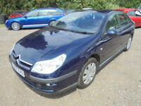 Citroen C5 1.8 16V LX EU4 125HP, LOW MILES (blue) 2007