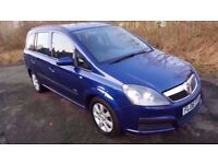 Vauxhall Zafira Life 1.6 16V **7 SEATER**YEARS MOT**NEW CLUTCH*F.S.H**IDEAL FAMILY CAR**