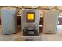 Panasonic mini Hi Fi system - CD and Radio