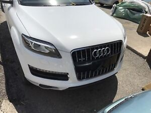 2013 supercharged Audi Q7 for sale as is