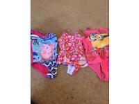 Girls swimming costume