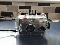 underwater camera and housing
