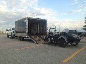 CUSTOM HAULING, ENCLOSED/OPEN SERVICE, GREAT RATES!!