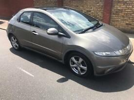 2006 HONDA CIVIC 2.2 ES DIESEL,PANORAMIC ROOF,CRUISE CONTROL,95K MILES,2 KEYS,YEAR MOT