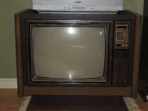 37 year old Sears Cabinet Model TV - still works