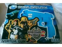 Sega Saturn Virtua Gun set