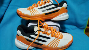 Tennis Shoes, Adidas Barricade men size 9.5