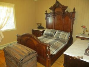 SUPER SET DE CHAMBRE ANTIQUE 1872