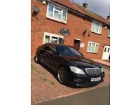 Mercedes S600 V12 Brabus with driver for weddings party's.....
