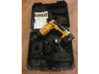 Dewalt cordless plaster board screw gun