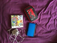 Nintendo 3DS XL Pokemon Blue (Charger, Pokemon Case and Pokemon Rumble Game) Excellent Condition