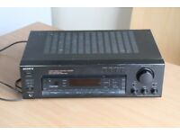 Sony multi-channel amplifier with phono - STR-D515 - for parts or repairs