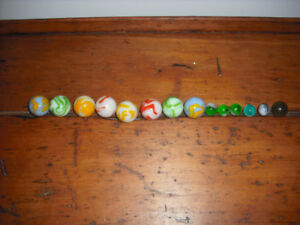 VINTAGE MARBLES FROM 1800's AND EARLY 1900's