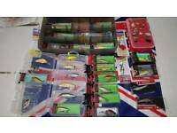 39 quality lures all brand new boxed sealed. Rapala.
