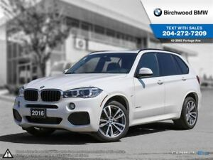 2016 BMW X5 Xdrive35d M Sport Line, Premium Enhanced Package,