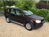 VOLVO XC90 D5 SE AWD 1 OWNER FSH (red) 2006
