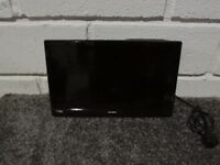 HD READY LED TV TELE TELEVISION ALBA 20 ''WITH DVD PLAYER AND WALL MOUNT