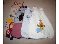 Baby/toddler sleeping bags (various sizes)
