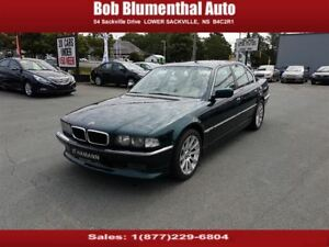 1997 BMW 740 i WOW! RARE! CARPROOF CLEAN! LOW KMS!!