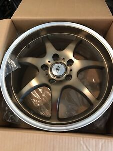 "17"" 5on4.5/114.3 BRAND new bronze wheels never used $520 OBO"