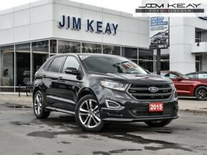 2015 Ford Edge Sport   - Leather Seats -  Bluetooth -  Heated Se