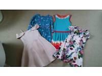 4 girls dresses age 6-7