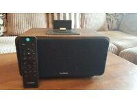 bluetooth wireless speaking system with docking station