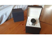 Huawei Smart Watch 1 Stainless Steel body & Bracelet Excellent Condition Boxed Warranty Android iOS