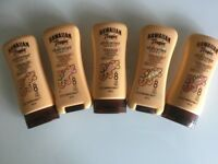 HAWAIIAN TROPIC SHIMMER EFFECT FACTOR 8 PROTECTIVE SUN LOTION, 5 X 180ml BOTTLES